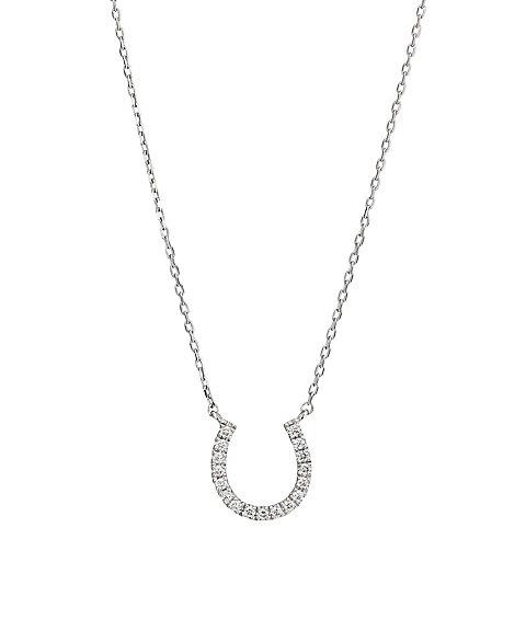 <スタージュエリープレシャス> MICRO SETTING DIAMOND HORSESHOE ネックレス【三越・伊勢丹/公式】