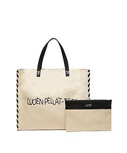 lucien pellat-finet/ルシアン ペラフィネ lucien pellat-finet トートバッグ