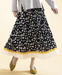 Rogique L(Women/大きいサイズ)/ロジーク エル ANONYME デイジーPTプリーツスカート