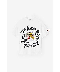 KENZO (Men)/ケンゾー Tシャツ SS21KY KFK Logo Boxy Tee M FB55TS0724SK