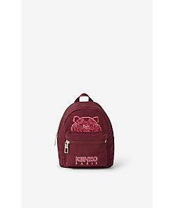KENZO (Men)/ケンゾー バックパック Kampus Tiger Mini Backpack Velvet FA65SF301FQ6