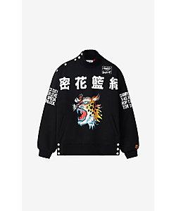 KENZO (Men)/ケンゾー スウェット SS21 Kanji Logo High Neck Sweatshirt M FB55SW5504MH
