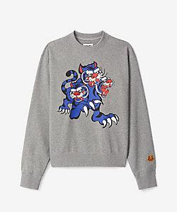 KENZO (Men)/ケンゾー スウェット SS21KY 3Head Tiger Classic Sweatshirt M FB55SW0134ML