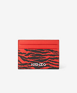 KENZO (Men)/ケンゾー カードケース SS21KY Tiger Card Holder Leather FB55PM900L43