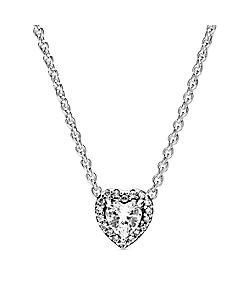 PANDORA/パンドラ Elevated Heart Necklace
