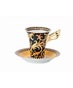 VERSACE(Living&Art)/ヴェルサ-チ バロッコ コーヒーカップ&ソーサー