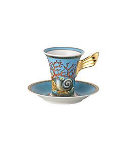 VERSACE(Living&Art)/ヴェルサ-チ ウミノタカラ コーヒーカップ&ソーサー