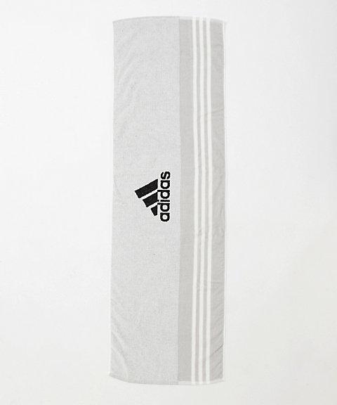 三越・伊勢丹オンラインストア<アディダス/adidas> スポーツタオルBOX入り(CX3994) ホワイト/グレー 【三越・伊勢丹/公式】