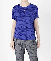 三越・伊勢丹/公式【SALE(三越)】<アディダス/adidas> M4Tトレーニング総柄Tシャツ(DJ2979) MYSTERY INK