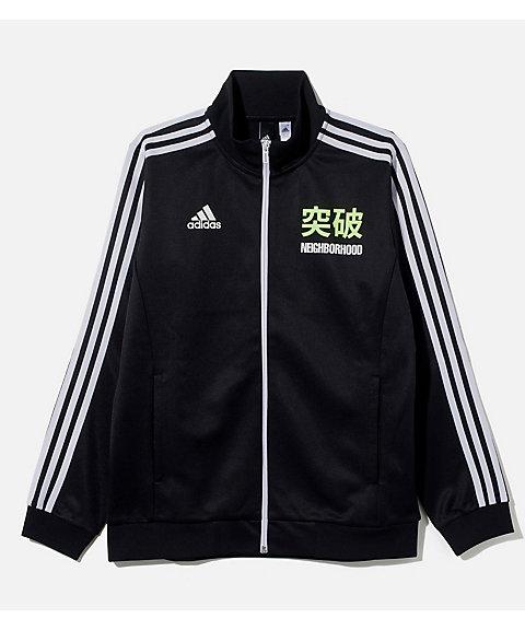 <アディダス/adidas> x<ネイバーフッド>▼勝色 トラックトップ(DW6671) ブラック 【三越・伊勢丹/公式】