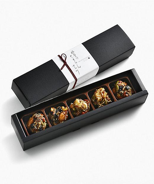 京都/料亭のちりめんナッツ(5個入)