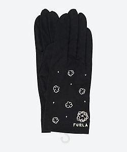 FURLA(Women)/フルラ フラワーモチーフ5指UV手袋(ショート丈)