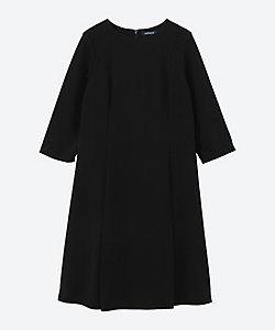 NEWYORKER LPLUS(Women/大きいサイズ)/ニューヨーカーLPLUS ポリエステルジョーゼットサックドレス プラスサイズ