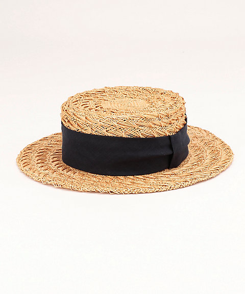 <Kiyomi Medeirosxアクセソワリスト> バオ カンカン帽(AC16767124) ネービーブルー(74) 【三越・伊勢丹/公式】
