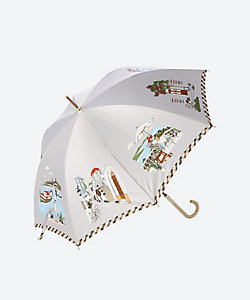 DAKS(Women)/ダックス 風景柄雨用長傘