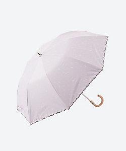 POLO RALPH LAUREN(Women)/ポロ ラルフローレン(婦人雑貨) 晴雨兼用折りたたみ傘 ストライプ×ドット