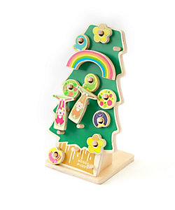 WOODYPUDDY(Baby&Kids)/ウッディプッディ カタカタおとし RINGの木