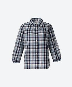 サッカーマドラスシャツ