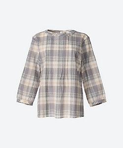 ワッシャーチェックシャツ