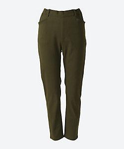 green nout(Women/大きいサイズ)/グリーンノート スーパーストレッチツイルパンツ