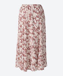 green nout(Women/大きいサイズ)/グリーンノート フラワープリントスカート