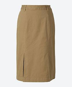 green nout(Women/大きいサイズ)/グリーンノート ストレッチツイルスカート