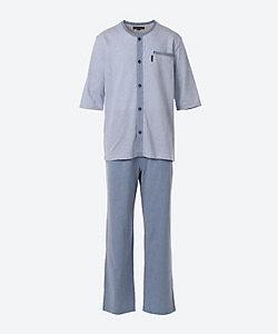 Aquascutum(Men雑貨etc)/アクアスキュータム 半袖スポーツパジャマ