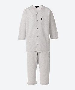 Aquascutum(Men雑貨etc)/アクアスキュータム 7分袖7分丈スポーツパジャマ