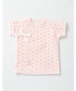 赤ちゃんの城(Baby&Kids)/アカチャンノシロ 低出生体重児ベビー服 短肌着 麻の葉