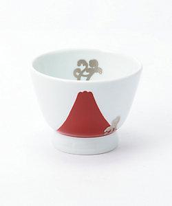 深川製磁/フカガワセイジ 赤富士白金蕨 アルテ・ウァン