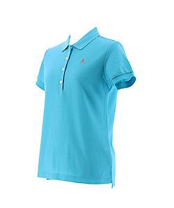 Munsingwear/マンシングウェア レディスワンポイント半袖シャツ