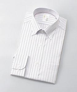 IMZ(Men)/イムズ 長袖ストライプシャツ(ZMD811‐410)