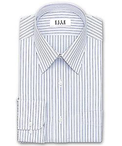 ELLE(Men)/エル レギュラーカラー 長袖ストライプシャツ