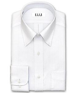 ELLE(Men)/エル レギュラーカラー 長袖白ドビーシャツ