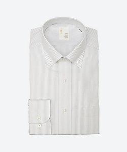 IMZ(Men)/イムズ 長袖ストライプワイシャツ