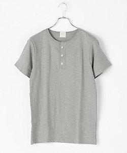PARAPHERNALIA(Men)/パラファナリア ヘンリーネックTシャツ(半袖)(0118388102)