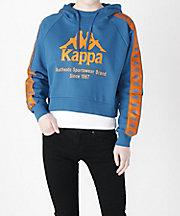 三越・伊勢丹/公式 <カッパ/Kappa> Kappa BANDA 婦人パーカ(K0862MT65M) ブルー