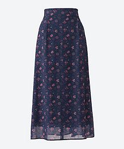 UNTITLED(Women)/アンタイトル MIリバティフィオーレスカート