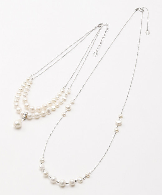 <VENDOME BOUTIQUE(Women)/ヴァンドームブティック> 「ティア パール」トップ付淡水パールネックレス2点セット【三越伊勢丹/公式】
