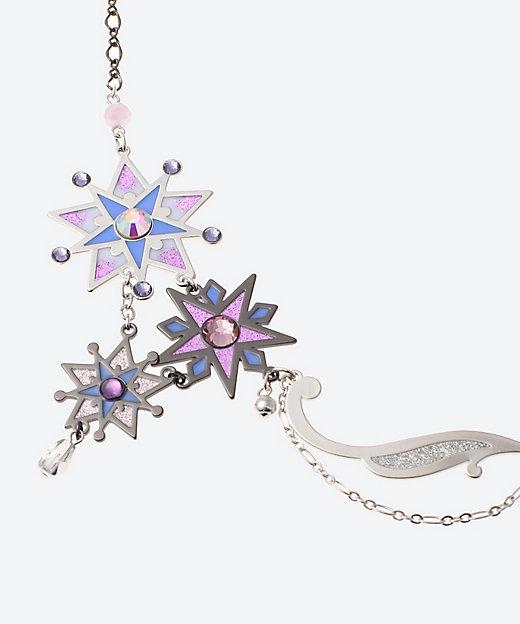 moon&starモチーフ ショートネックレス