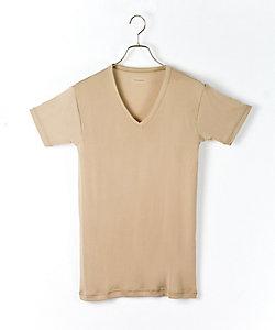 GUNZE(Men)/グンゼ 夏用素材/冷感素材/VTシャツ(BAC215B)
