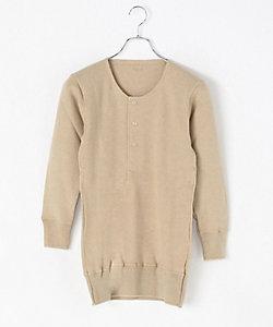 快適工房(Men)/カイテキコウボウ カシミヤ混/長袖ボタン付シャツ