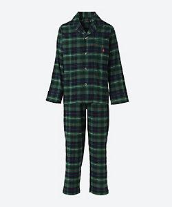 POLO RALPH LAUREN(Men雑貨etc)/ポロ ラルフローレン フランネル素材 長袖テーラードパジャマ