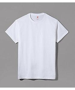 Hanes(Men)/ヘインズ ヘインズプレミアム ジャパンフィット/半袖クルーネックTシャツ/綿100%/年間素材(HM1‐F001)