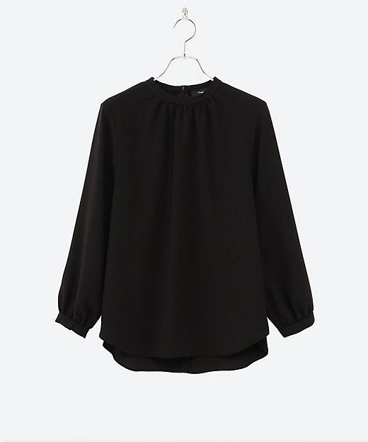 <Theory(Women)/セオリー> 大きいサイズ PRIME GGT STAND COLLOR GA black(50)【三越伊勢丹/公式】
