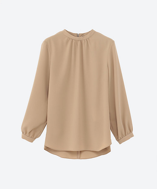 <Theory(Women)/セオリー> 大きいサイズ PRIME GGT STAND COLLOR GA beige(300)【三越伊勢丹/公式】