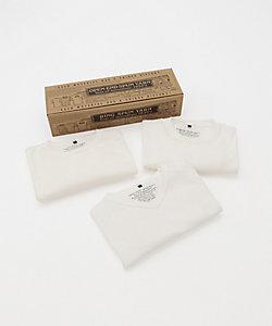 Nigel Cabourn (Men)/ナイジェル・ケーボン Tシャツ 3-PACK TEE 80360021050 803800210503