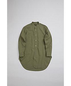 Nigel Cabourn(Men)/ナイジェル・ケーボン スタンドカラーシャツ / STAND COLLAR SHIRT TWILL 80400010012