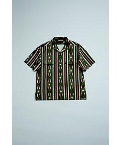 Nigel Cabourn(Men)/ナイジェル・ケーボン ネイティブハーフスリーブシャツ 70'S NATIVE HALF SLEEVE SHIRT PANAMA CLOTH‐80400011010