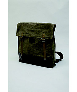 Nigel Cabourn(Men)/ナイジェル・ケーボン マウンテンアーミーリュックサック 40'S‐SWISS ARMY FABRIC+HOWEEN LEATHER 80400061003